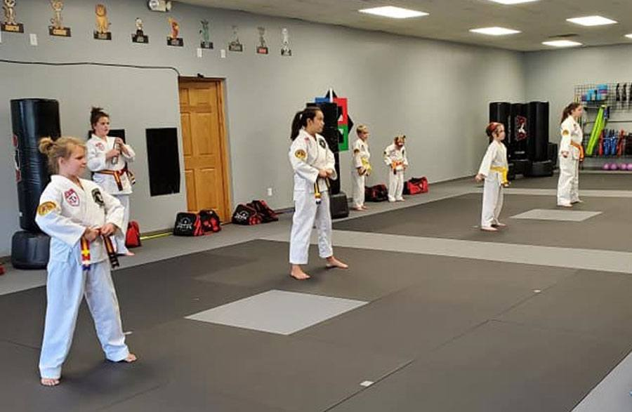 New Prague Martial Arts kids class